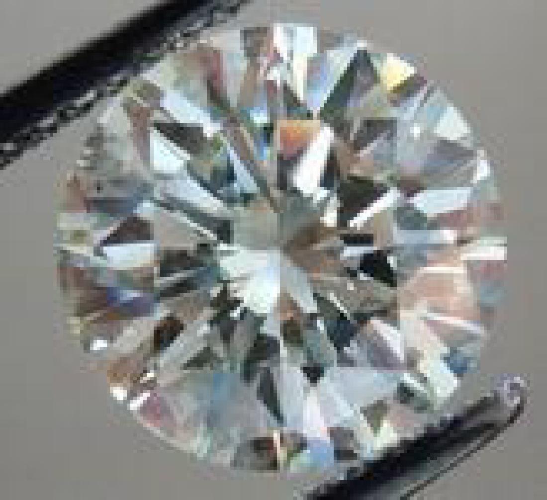 6ct Round Brilliant Cut Bianco Diamond - 2