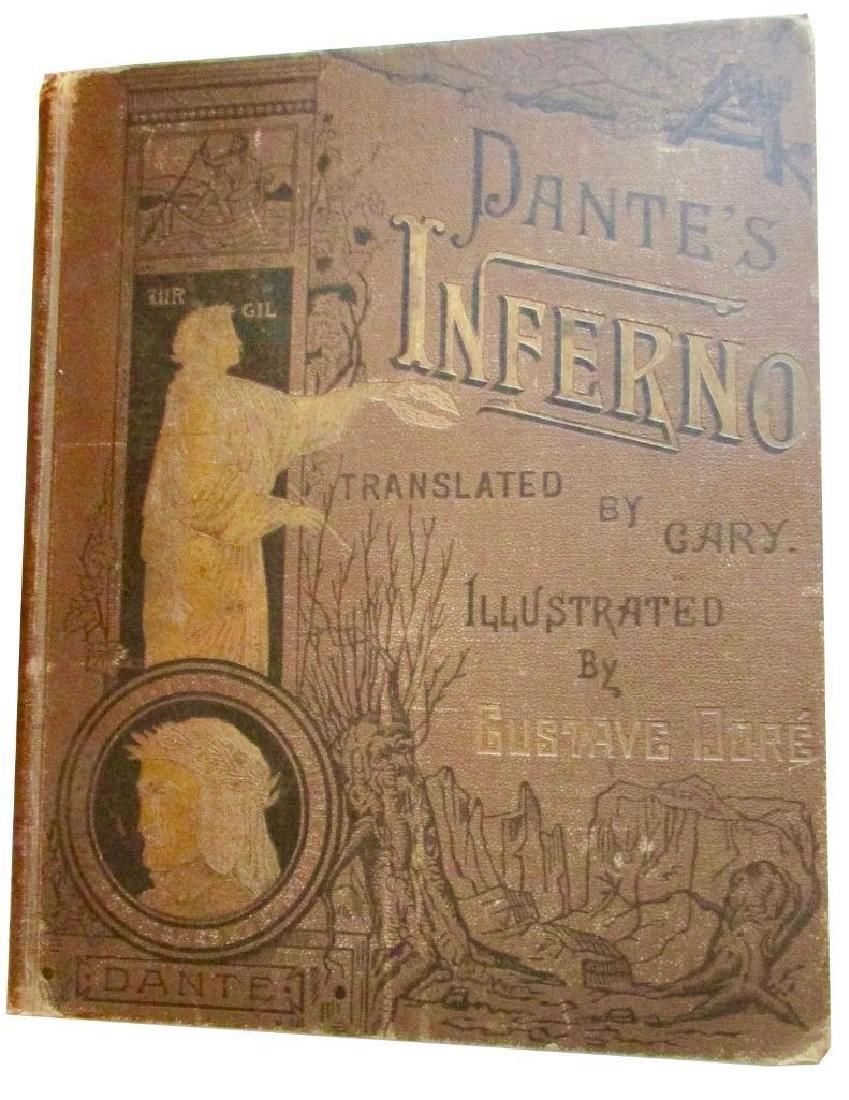 Dante's Inferno Oversized HB Illustrated By Dore