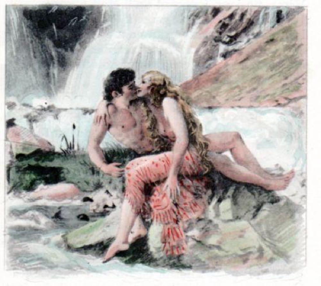 Paul Emille Becat Erotica Nude Seductress Woman
