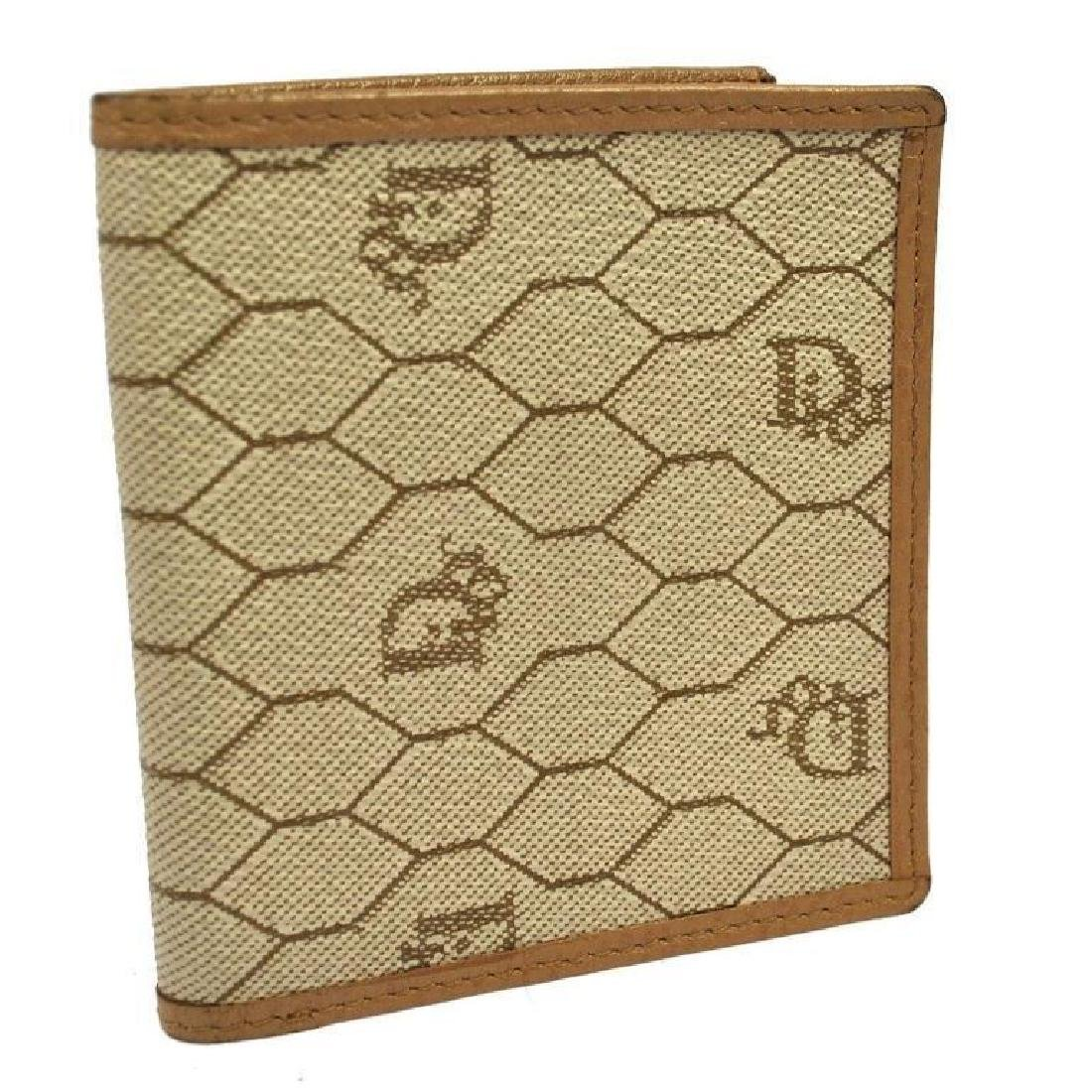 Authentic Vintage Christian Dior Bi-fold Wallet