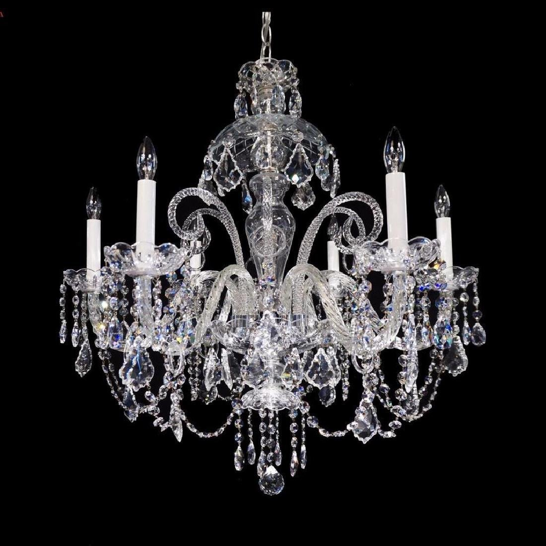 Anadel - 6 Light Crystal Chandelier with Swarovski -
