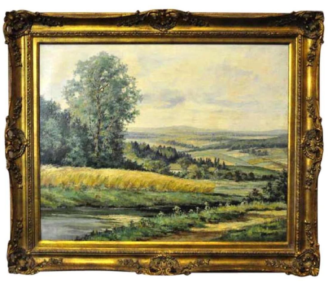 Gilbert Neumann (1906-1970) Oil On Canvas