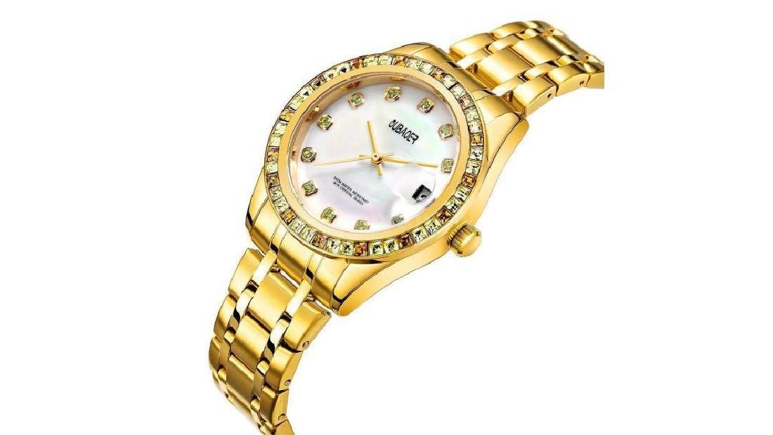 Fashion Stainless Steel Women Quartz Water-resistant