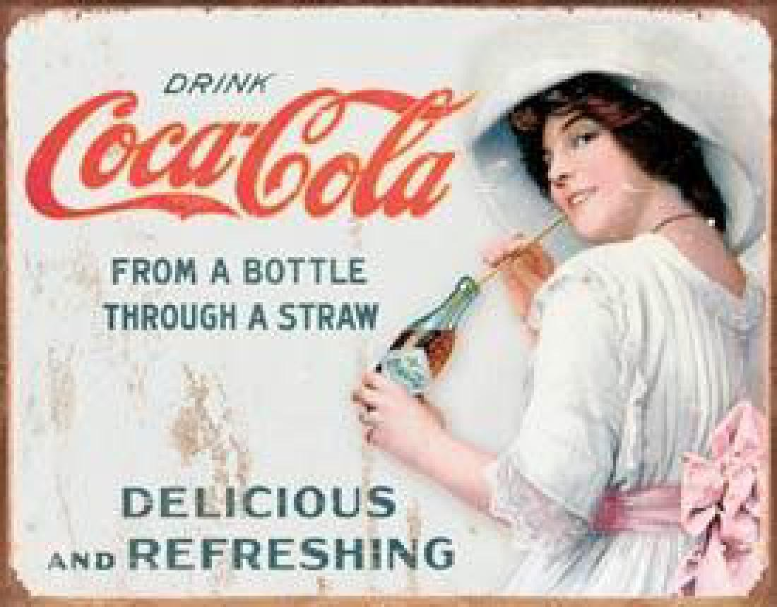 COKE - Thru a Straw