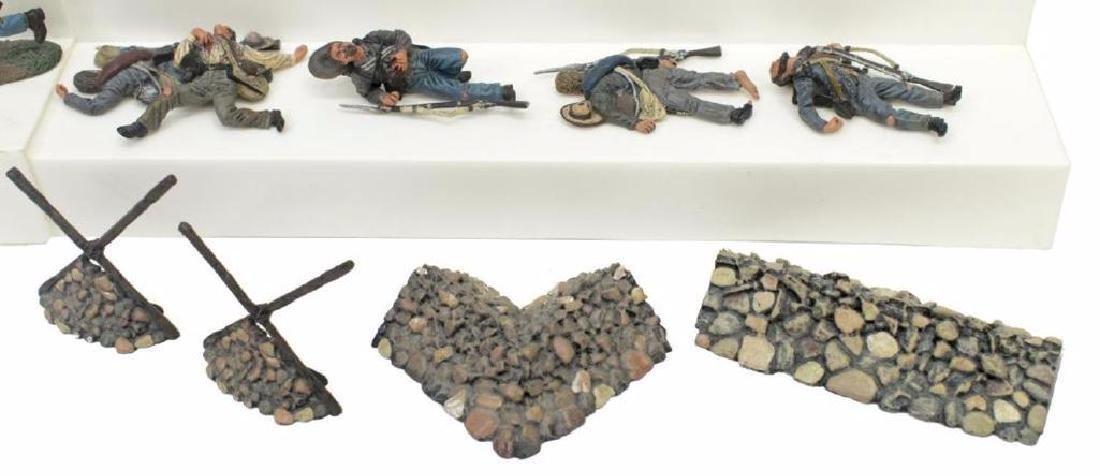 (40) U.s. Civil War Metal Miniature Soldiers - 5