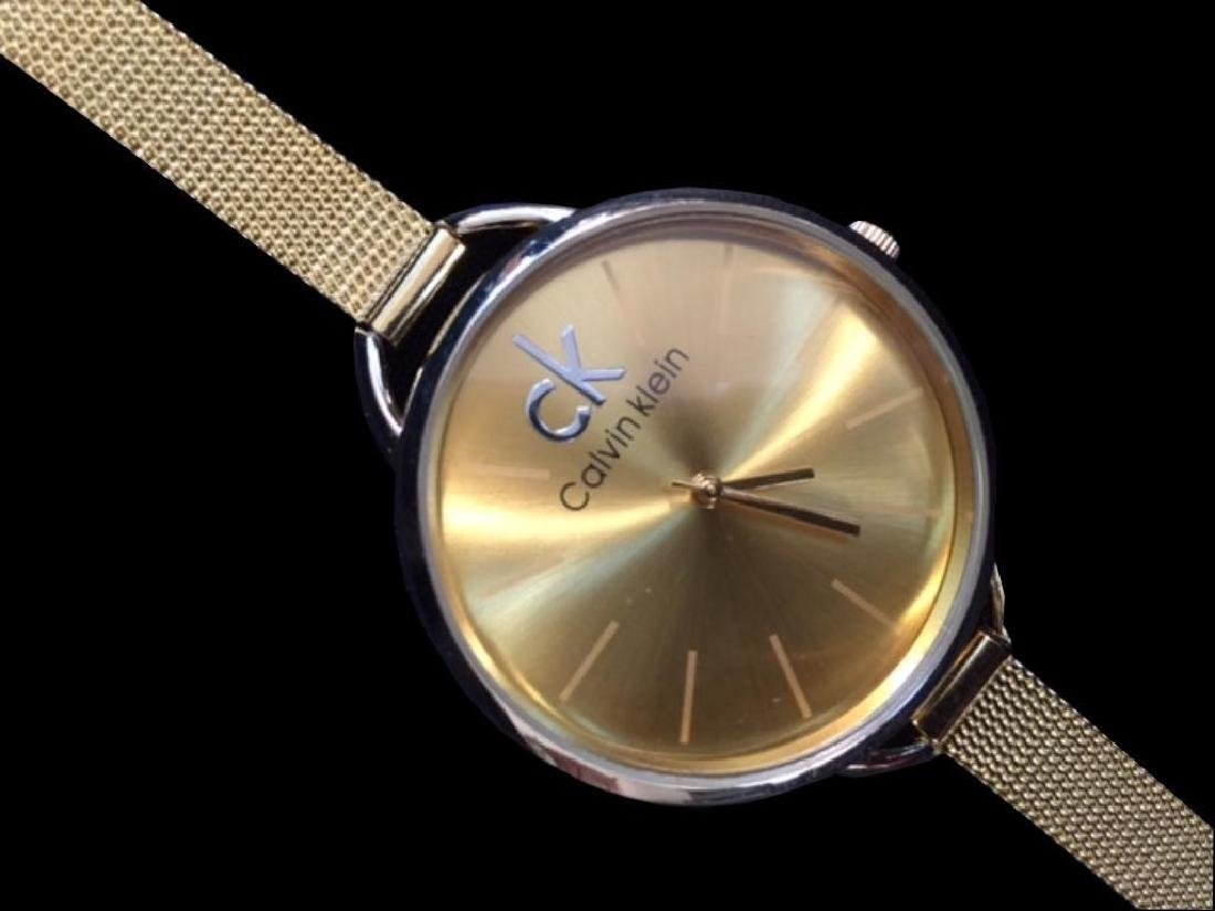 Calvin Klein Gold Wristwatch