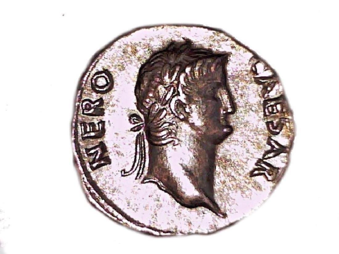 Sun God Roman Emperor Nero Rome Roma coin Colossus