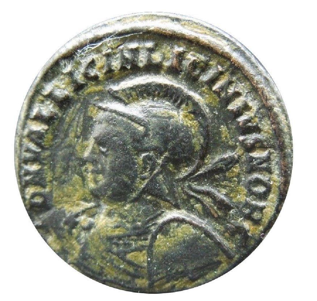 Roman coin of Licinius II.