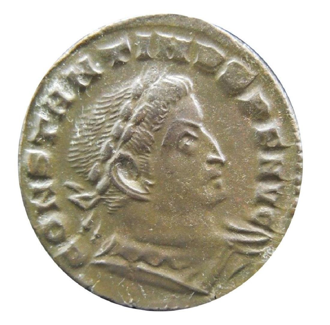 Roman coin of Constantine I.