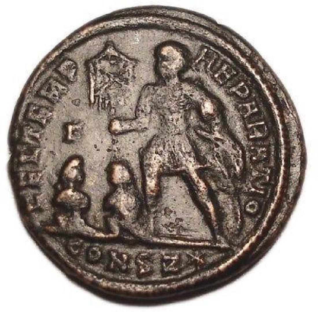 Constantius Ii 337-361 Ad Roman Bronze Coin Fel Temp