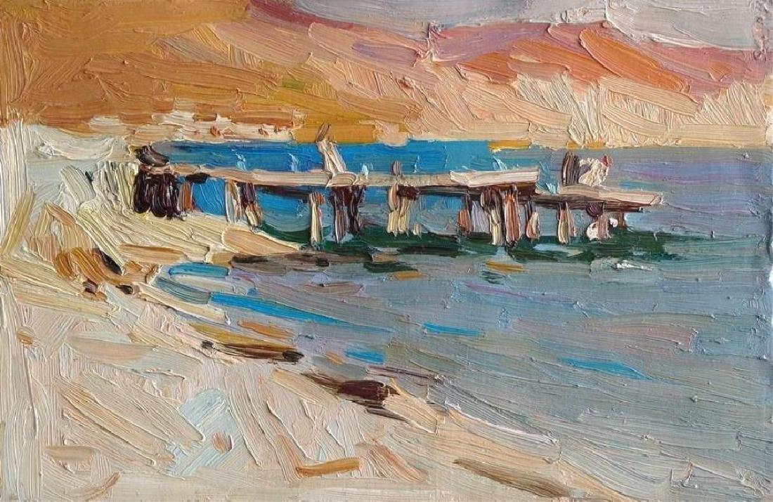 21stc Signed Impressionist Landscape, Oil Painting,