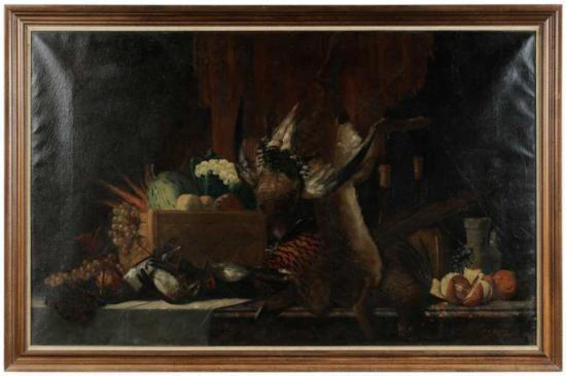 Max Otto Beyer, Nature Morte, Signed Oil on Canvas