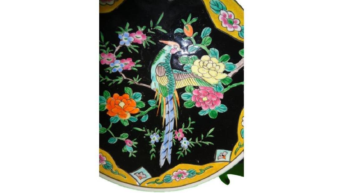 Vintage/Antique Oriental Hand Painted Charger Plate