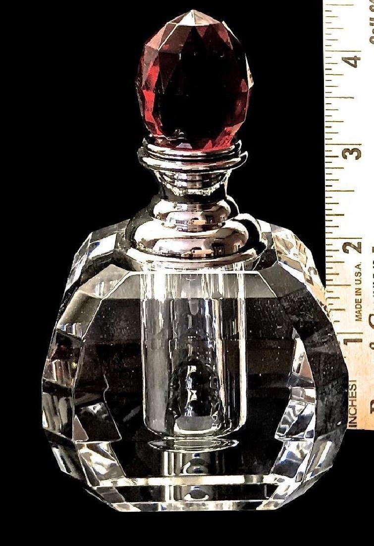 Perfume Bottles Full Cut 8027 Facet Lead Crystal