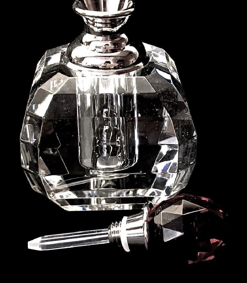Perfume Bottles Full Cut 8027 Facet Lead Crystal - 4