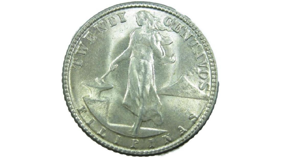Silver American Minted Wwii Foreign Coin - 4