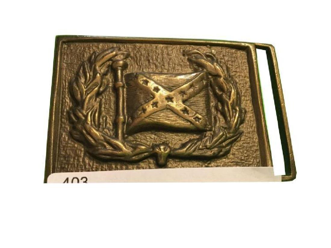 Confederate Flag buckle