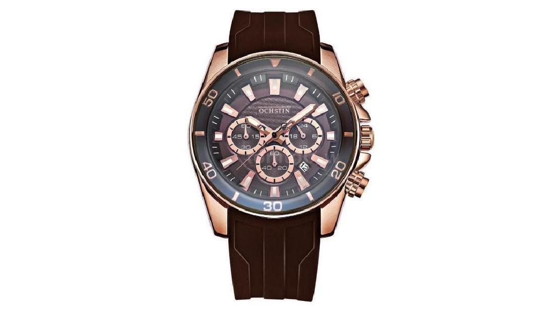 Waterproof OCHSTIN Men's Analog Quartz Wrist Watch