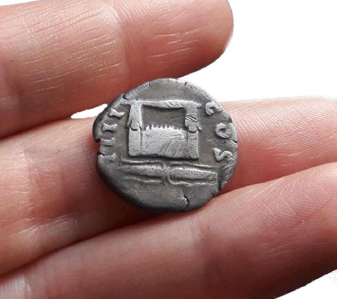 Roman Denarius Silver Coin Original Antonnus Pius