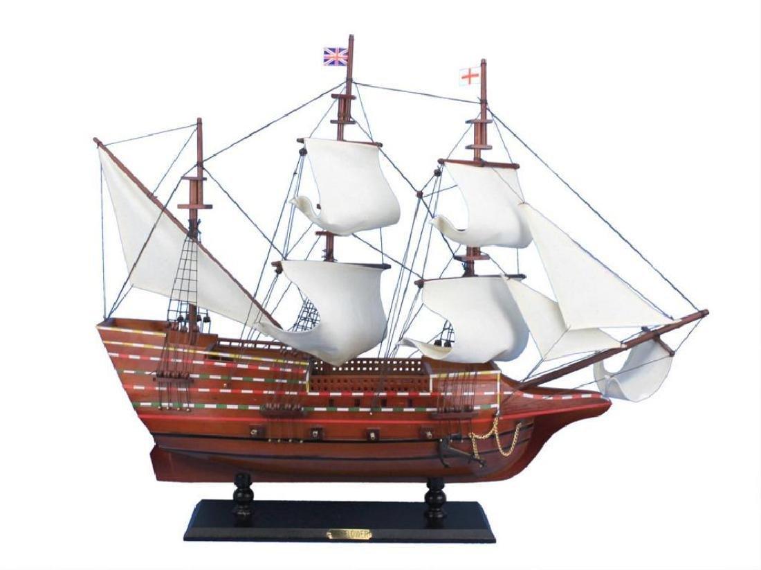 """30"""" Wooden Ship Model, Mayflower"""