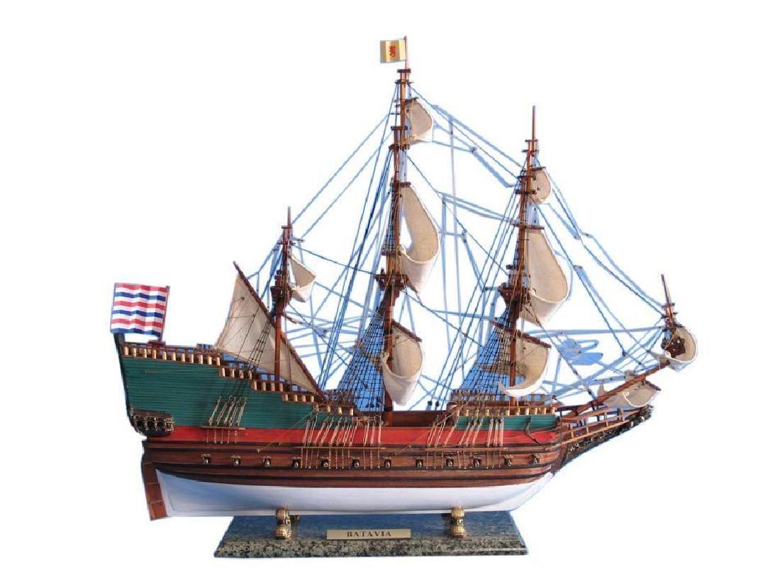 "Wooden Batavia Tall Model Ship 31"""