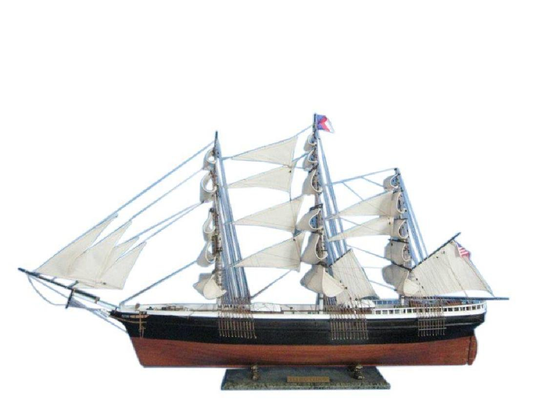 "Flying Cloud 50"" Tall Model Ship Limited"