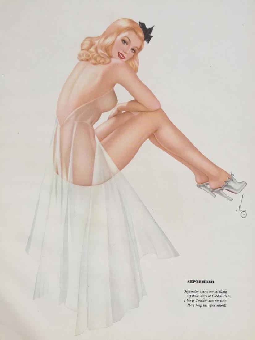 WWII Varga Esquire Magazine 1942