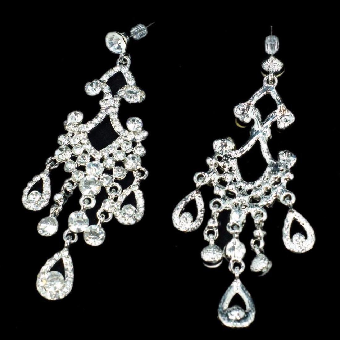 Chandelier Dangle Earrings Designer Costume Jewelry
