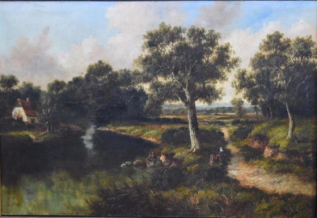 H.C. Buttler; 19thC. English Oil Painting Signed - 2