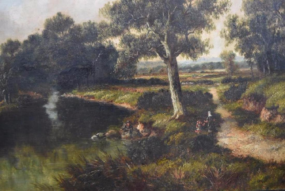 H.C. Buttler; 19thC. English Oil Painting Signed - 3