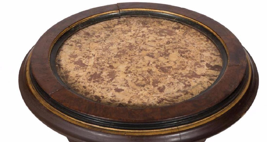 Victorian Marble Top Pedestal - 3