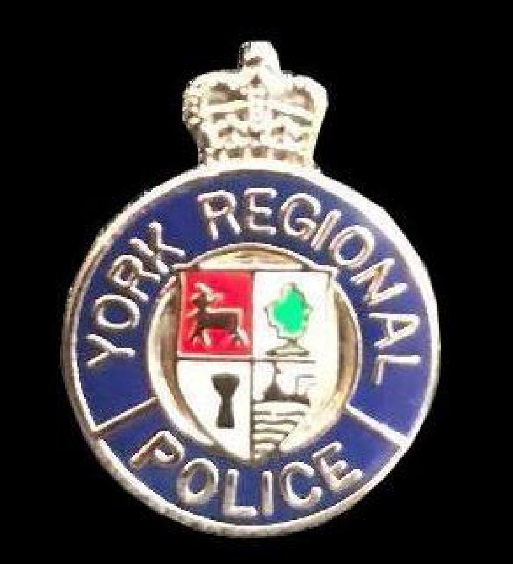 Canadian York Regional Police Badge Pin