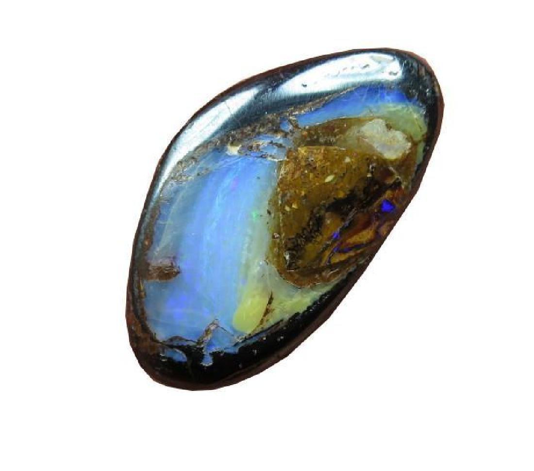 O/l 24cts. Boulder Matrix Opal - 2