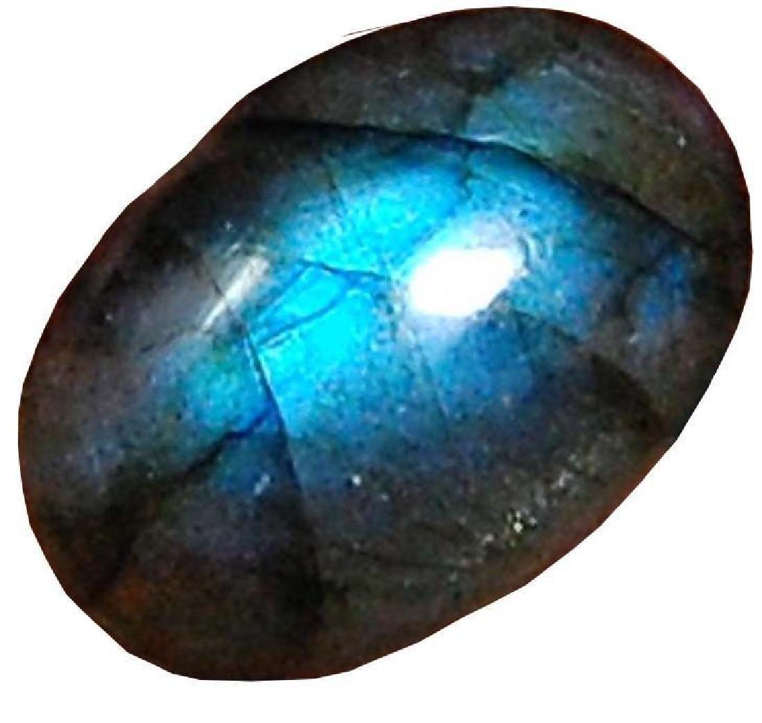 18.60 Cts Aaa Natural Labradorite Blue Flahsy Loose
