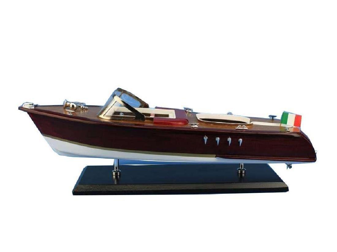Wooden Riva Aquarama Model Speed Boad 20'' - 2