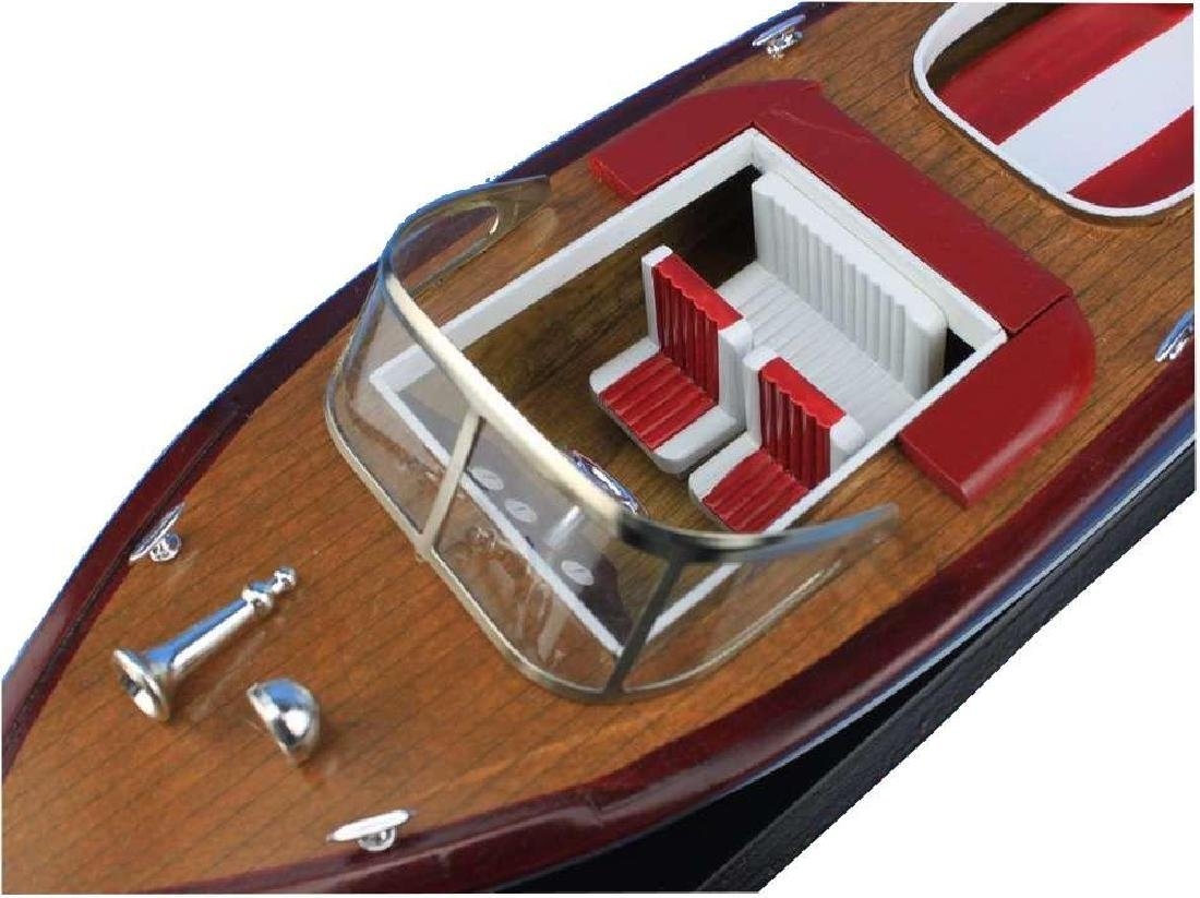 Wooden Riva Aquarama Model Speed Boad 20'' - 4