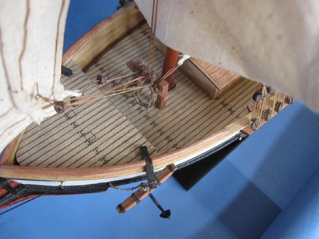 "Wooden Lynx Model Ship 24"" - 10"