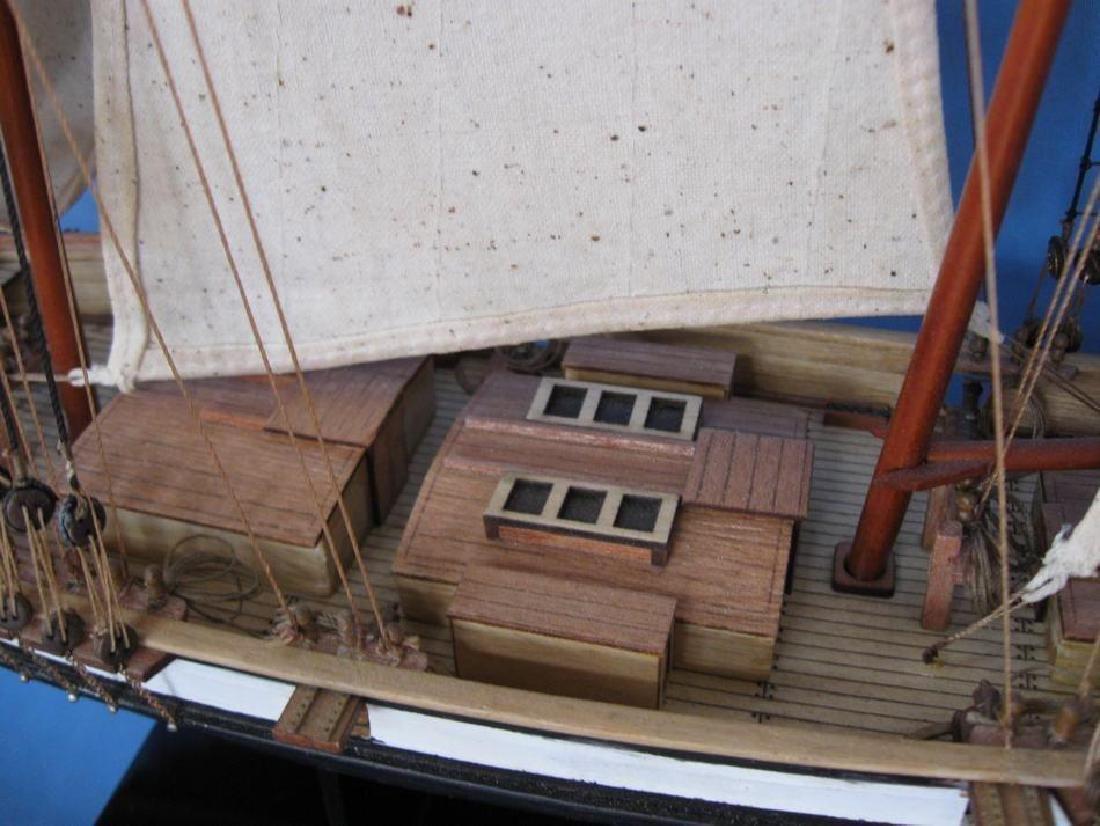 "Wooden Lynx Model Ship 24"" - 11"