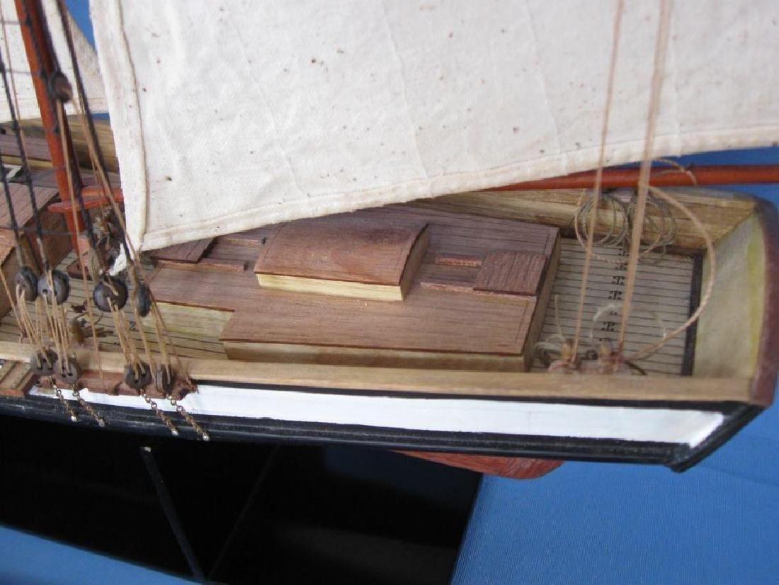 "Wooden Lynx Model Ship 24"" - 12"