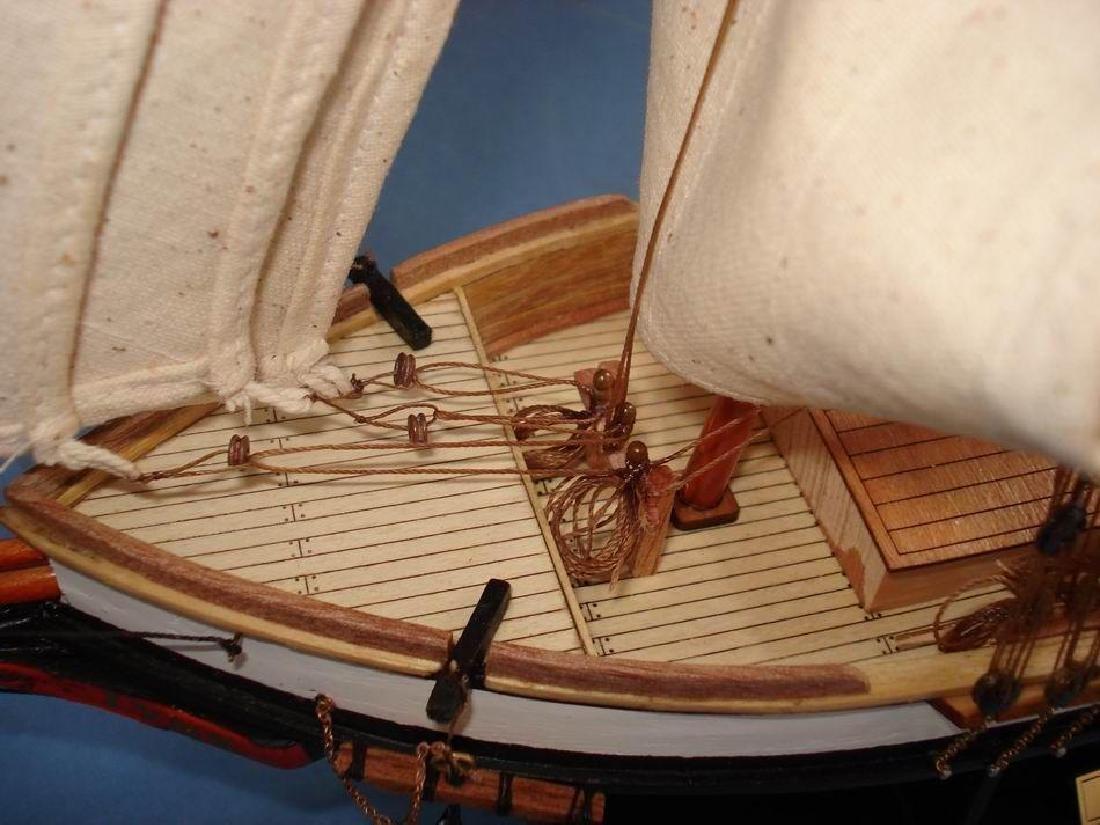 "Wooden Lynx Model Ship 24"" - 2"