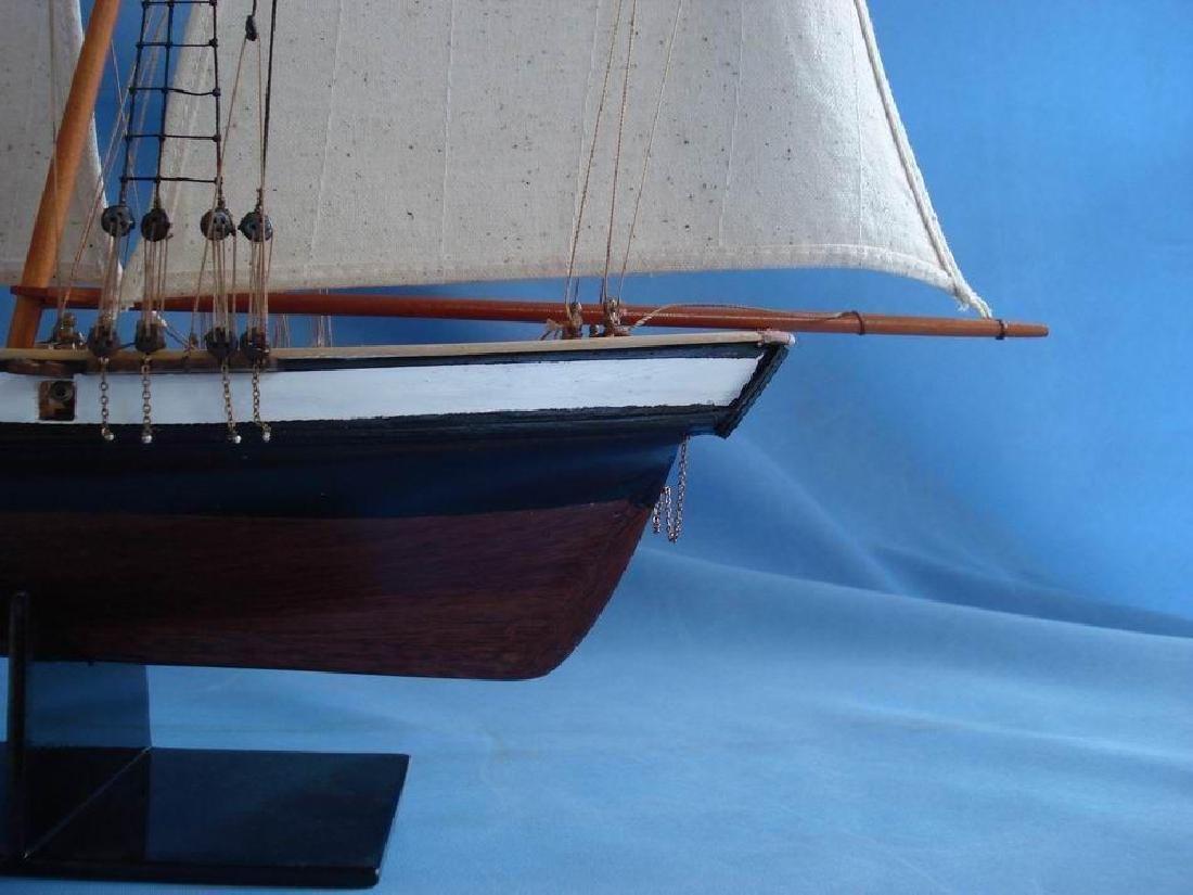 "Wooden Lynx Model Ship 24"" - 5"