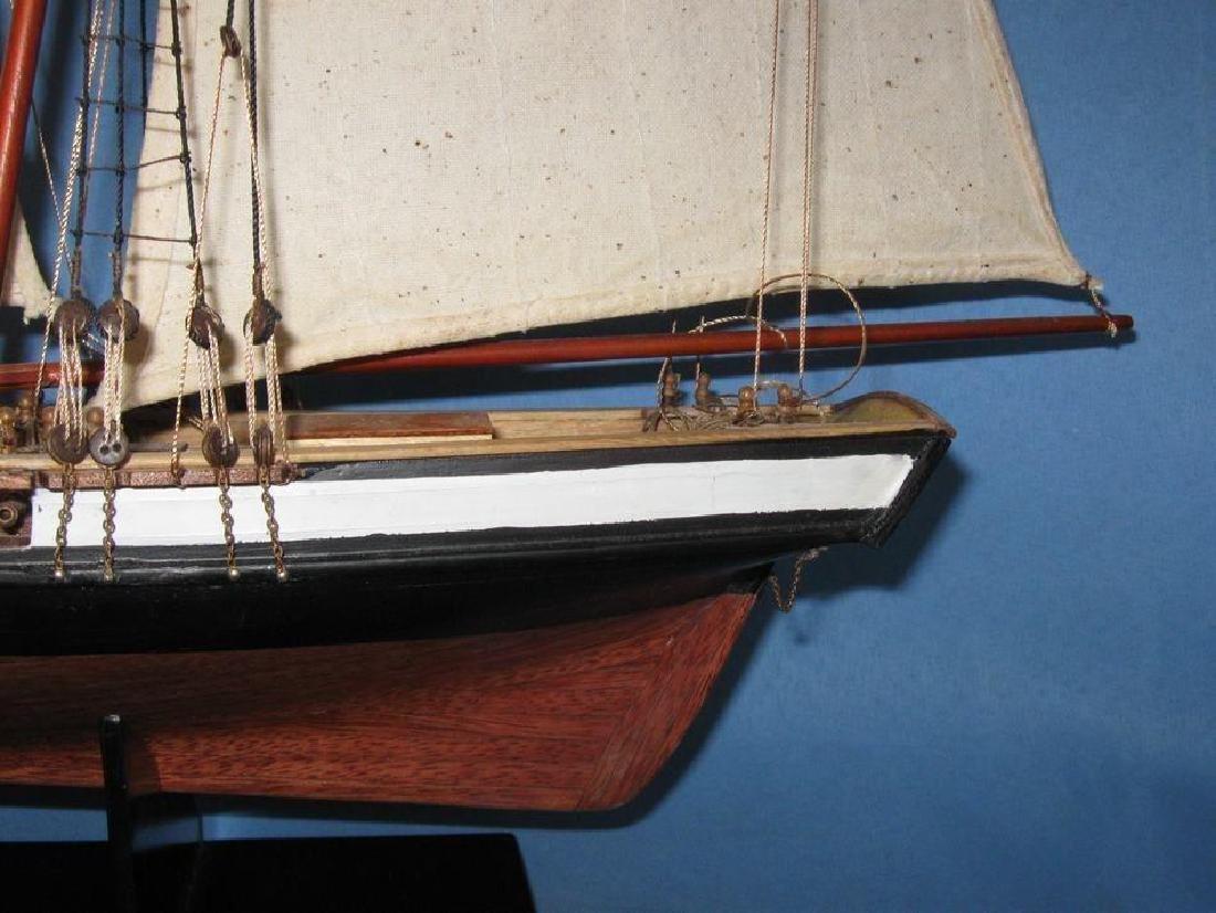 "Wooden Lynx Model Ship 24"" - 8"