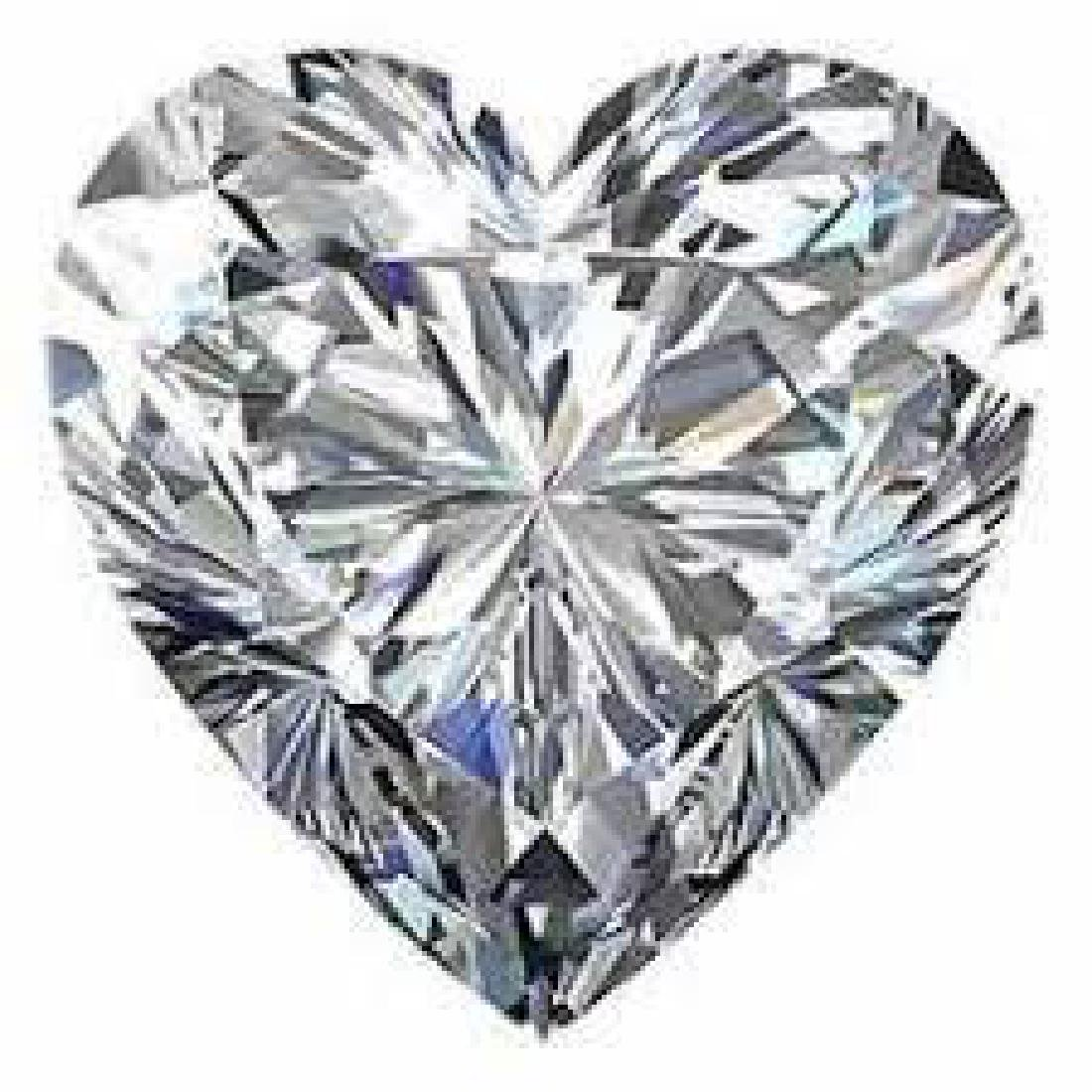 10 carat Heart Facet BIANCO Diamond