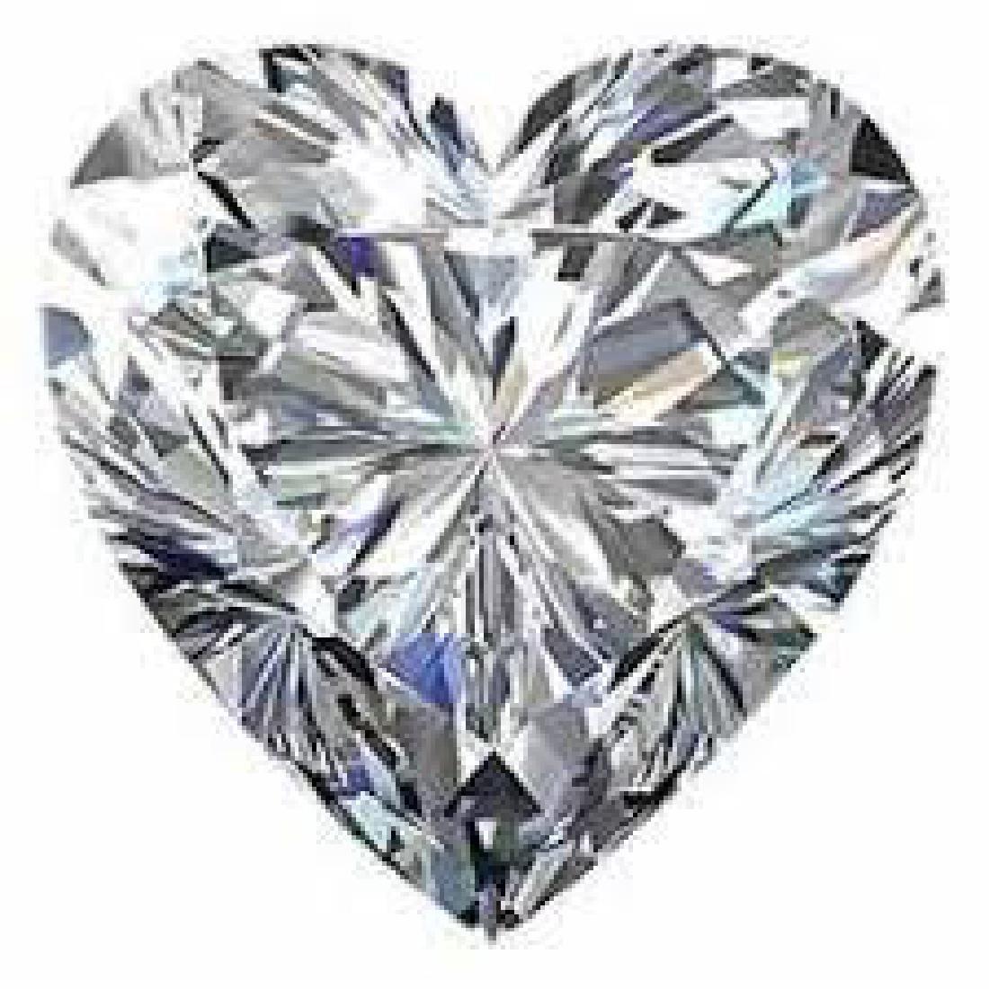 10 carat Heart Facet BIANCO Diamond