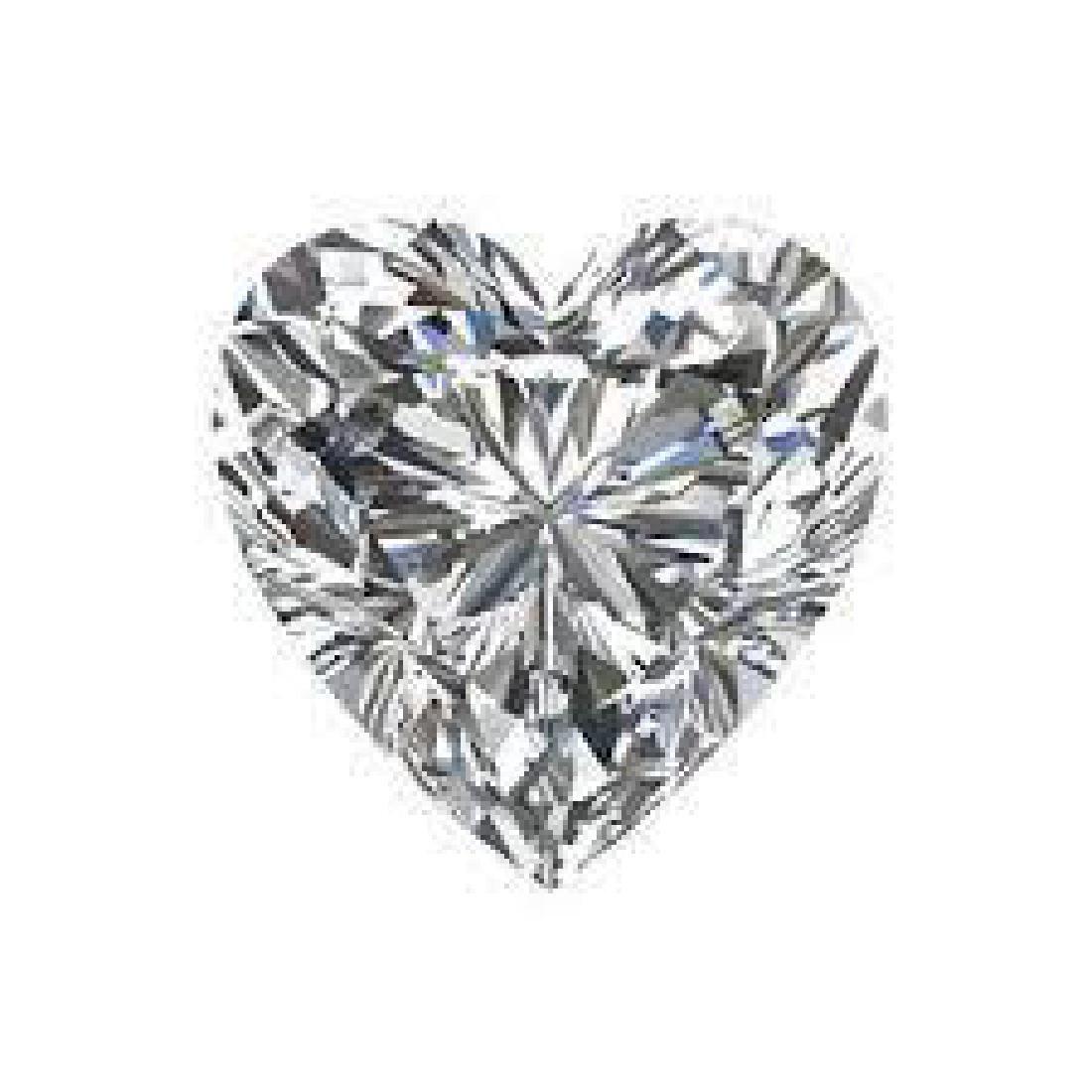 10 carat Heart Facet BIANCO Diamond - 3