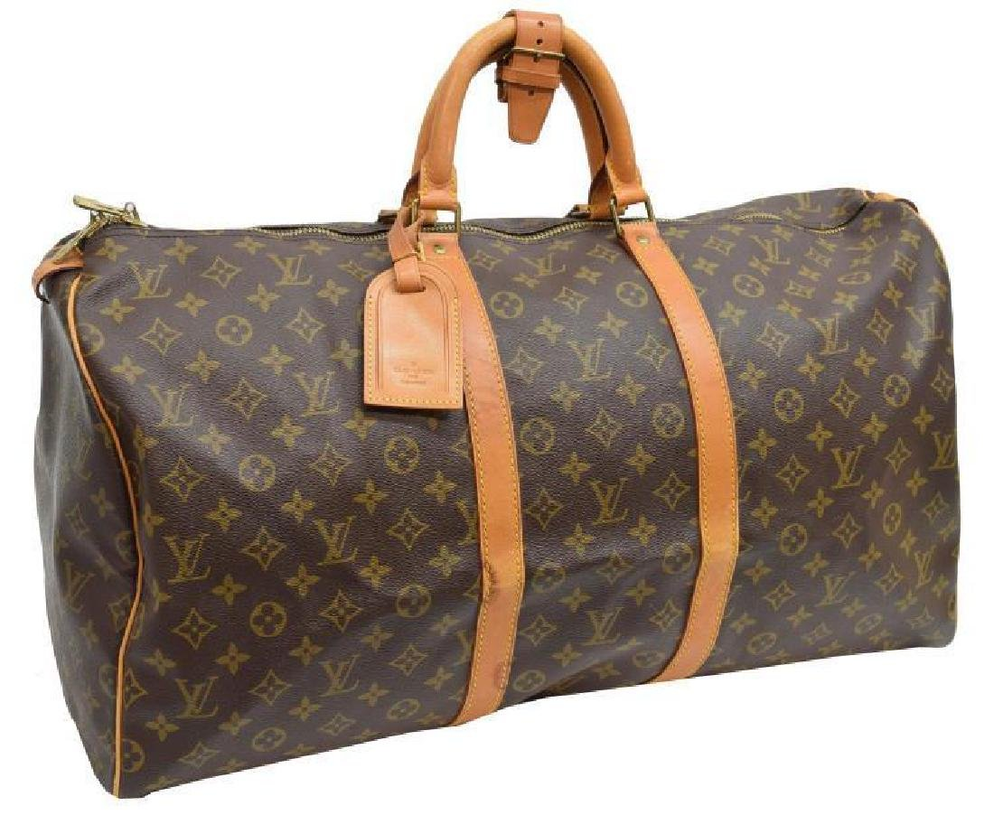 Louis Vuitton 'keepall 55' Monogram Duffle Bag
