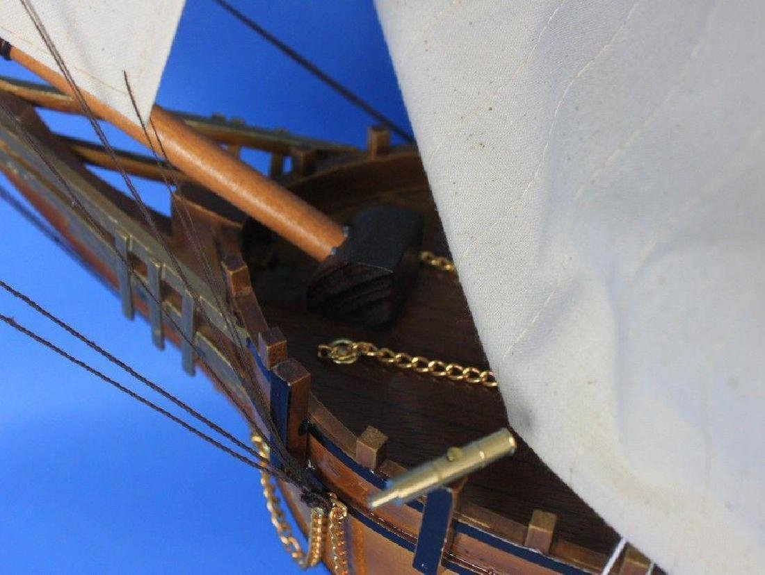 Wooden Charles Darwins HMS Beagle Limited Model Ship - 2