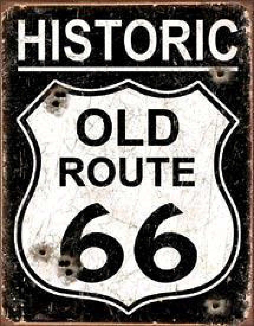 Old Route 66 - Weathered