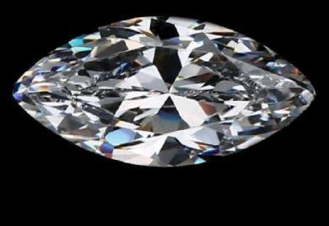 14 ct. Marquis Bianco Diamond