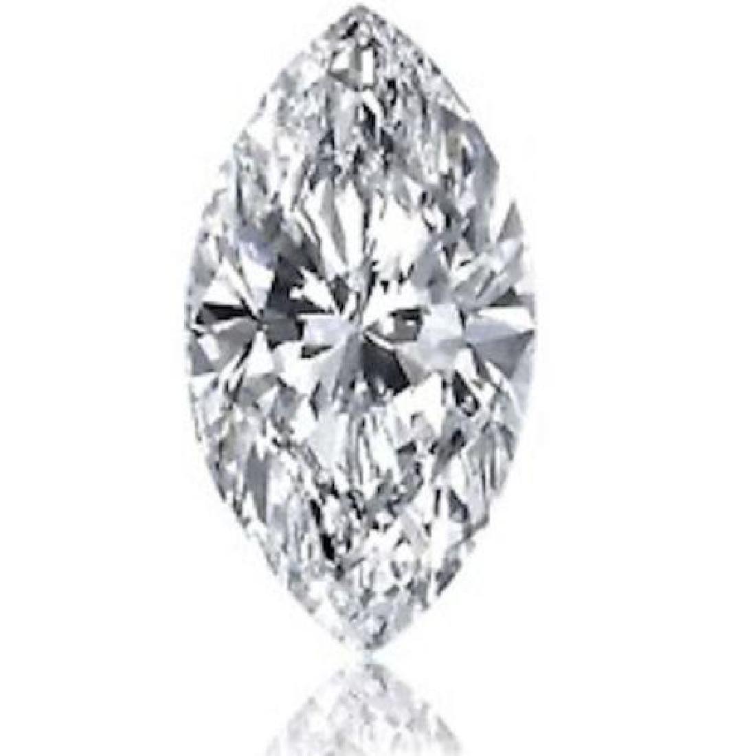 3.68cts  Marquise Bianco Diamond 6AAAAAA - Loose